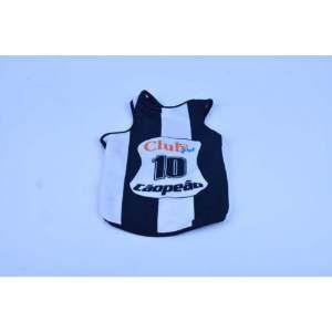 Regata poliester Santos G - Club Pet Chickao - 46x60cm