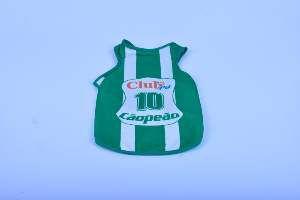 Regata poliester Palmeiras PP - Club Pet Chickao - 35x47cm