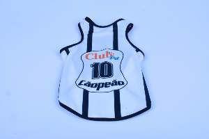 Regata poliester Corinthians PP - Club Pet Chickao - 35x47cm