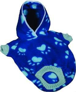 Suéter soft com capuz estampado PP - Club Pet Chickao - 28x40cm