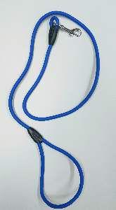 Guia de borracha para caes azul - Sao Raphael - 8 mm x 1,2 m