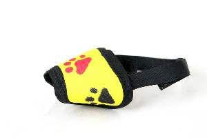 Focinheira tecido N2 com velcro - Club Pet Troyano - 6cm