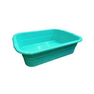 Bandeja higienica plastica verde agua - Club Pet Maxx - 47x36x14cm