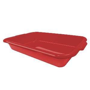 Bandeja higienica gato joy vermelha - Furacão Pet - 44x28x7cm