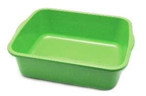 Bandeja higienica plastica color elite verde - Four Plastic - 46x38x15cm