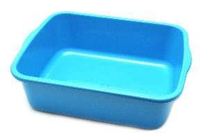 Bandeja higienica plastica color elite azul - Four Plastic - 46x38x15cm