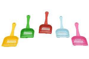 Pa higienica plastica para caes e gatos - Club Pet Alvorada - com 5 unidades - 25x11x4cm