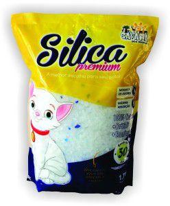 Silica higienica 1,5kg - Savana - com 8 unidades
