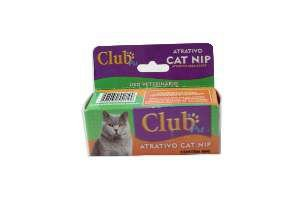 Catnip caixa 6g - Club Pet Cat Dog - com 3 unidades de 2g - 8x3,5x3,5cm