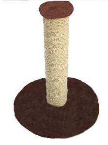 Arranhador poste cores variadas - Arranha Dantas - 36x40x34cm