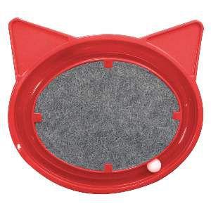 Brinquedo plast super cat relax - Vermelho - Furacao Pet - 44x40x5cm
