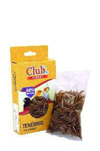 Tenebrio Desidratado - Club Pet Prefere - 15 g
