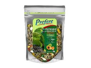 Racao mistura com frutas papagaio 400g - Prefere