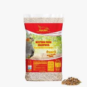 Racao mistura para calopsita 10kg - Minas Nutri