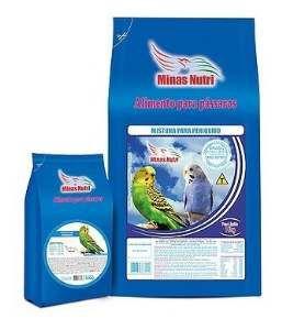 Racao mistura para periquito 10kg - Minas Nutri