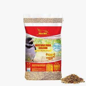 Racao mistura para coleiro 10kg - Minas Nutri