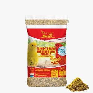 Racao mistura para canario 10kg - Minas Nutri