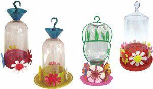 Bebedouro plastico beija-flor ekology com rosca - Mr Pet - 250 ml