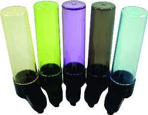 Bebedouro plastico malha larga colorida 75ml - Humberald - 3,2x12cm