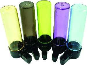 Bebedouro plastico malha fina colorida 75ml - Humberald - 3,2x12cm