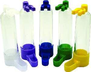 Bebedouro plastico cacula palito colorido 35ml - Humberald - 2,5x11cm