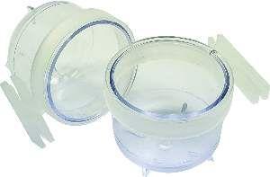 Porta vitamina plastica trincao cristal 50ml - Humberald - 5x4cm