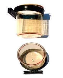 Porta vitamina plastica c/trava pixarro ouro - Beneh Dog - com 12 unidades