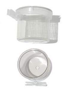 Porta vitamina cristal pixarro com trava - Beneh Dog - com 12 unidades