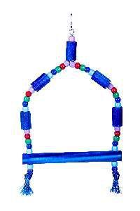 Brinquedo madeira poleiro mima G - Club Still Pet - 31x16cm