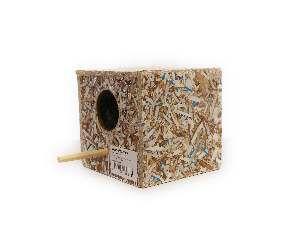 Ninho ecologico manon - Club Pet Recriar - 12x11x12cm