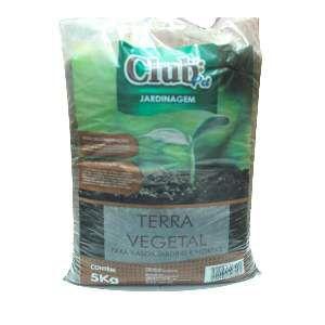 Terra vegetal adubada 5kg - Club Pet Galli