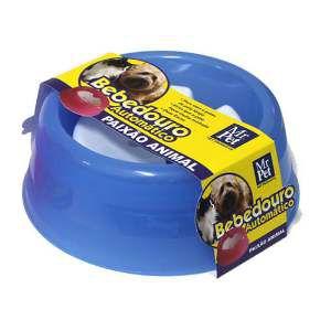 Bebedouro Automático para Cães e Gatos com Bóia - Mr Pet - 1 L - Azul