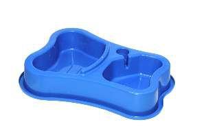 Bebedouro e Comedouro Automático - Mr Pet - Azul