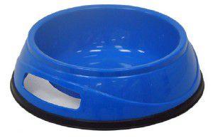Comedouro plastico antiderrapante N2 - 400g - Chalesco - 18x5,5cm