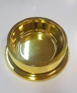 Comedouro plastico anti formiga prime ouro 1900ml - Pet Toys - 22x8cm
