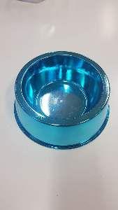 Comedouro plastico prime azul 1000ml - Pet Toys - 17x5cm