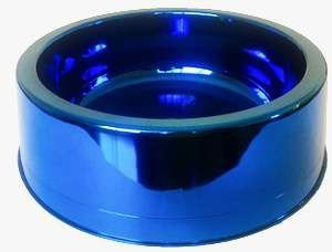 Comedouro plastico prime azul 1900ml - Pet Toys - 22x8cm