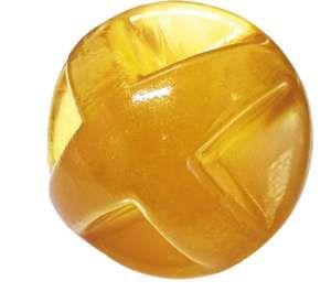 Brinquedo Bola Maciça Flexível Super Ball - Furacão Pet - 80 mm