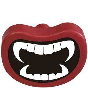 Brinquedo borracha macica vampiro - Furacao Pet - 9x7x7cm
