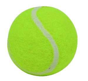 Brinquedo borracha/la bola mini tenis cat - LCM - 40 mm
