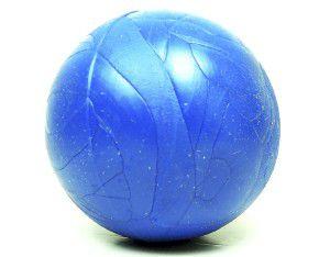 Brinquedo borracha macica bola colorida 55mm - Furacao Pet - 5,5x5,5x5,5cm