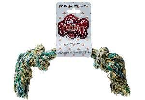 Brinquedo corda toy bone com aroma morango G - Cat Dog - 18cm