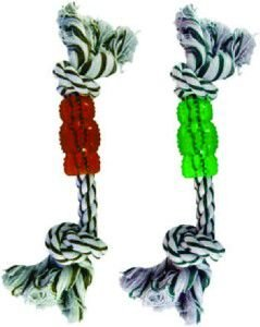 Brinquedo corda com aneis verde - Savana - 30cm