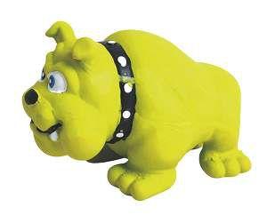 Brinquedo latex bulldog - American Pet's - 11,5x9cm