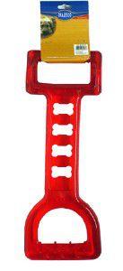 Brinquedo latex mordedor tipo tracao com alca flexivel - Chalesco - 25x7cm