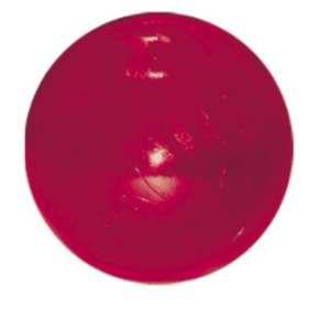 Brinquedo macico flexivel bola colorida 45mm - Furacao Pet - 4,5x4,5x4,5cm