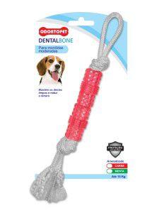Brinquedo Dental Bone Aromatizado com Corda - Vigoflex - 15 kg