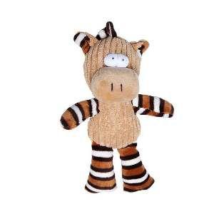 Brinquedo de Pelúcia Alce Listrado - Home Pet - 13x4x17cm