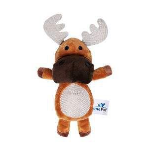 Brinquedo de Pelúcia Alce - Home Pet - 13x5x21cm