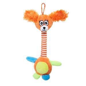 Brinquedo de Pelúcia Cachorro Palhaço - Home Pet